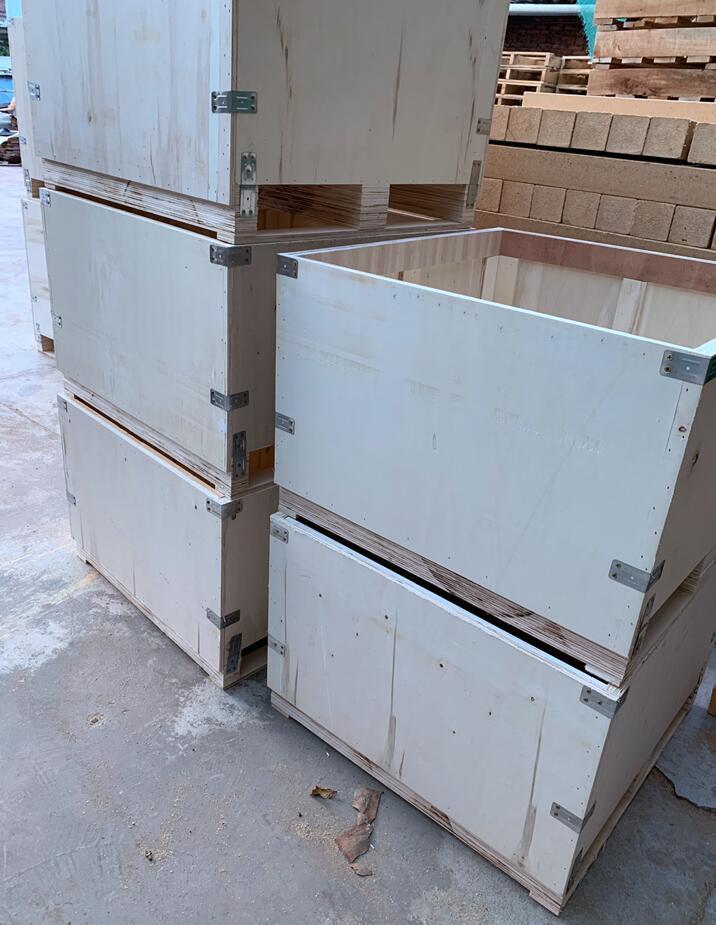 出口、钢带箱、木箱、免熏蒸1